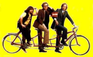 The Goodies do the cancan !